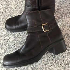 Bass Leather Ankle Boots 7-1/2